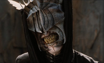 Mouth of Sauron, from the film, Lord of the Rings: The Return of the King