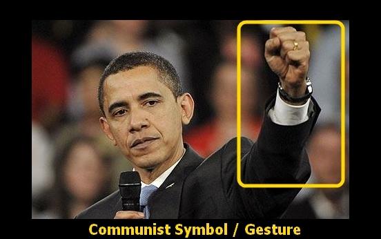 Obama-communist-gesture