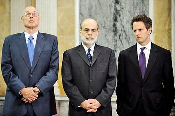 Paulson, Bernanke, Geithner