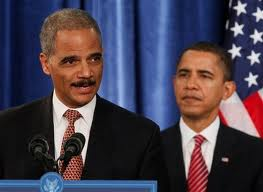Holder-Obama Obama and Holder Motto:  'Stop us if you can!'