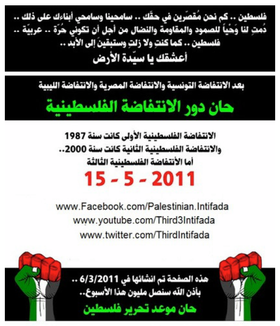 Update: 'Third Palestinian Intifada' Still Up at Twitter & YouTube