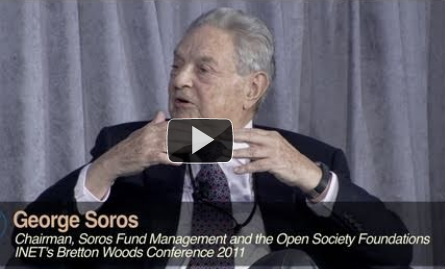 Soros at INET Bretton Woods