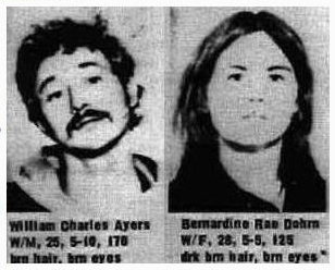 Bill Ayers & Bernardine Dohrn back in the day