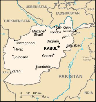 Afghanistan 2009 CIA