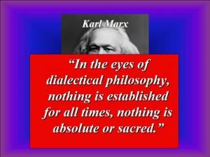 Marx - Dialectic
