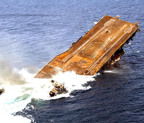 USS Oriskany sinking - Wikimedia