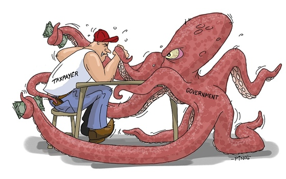 Octopus-2-print-WLG Austerity and How to Avoid it in America News