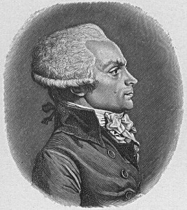 Maximilien Robespierre, leader of the Jacobins, violent proto-Marxists of the French Revolution