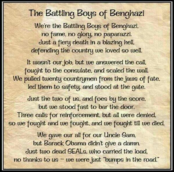 The Battling Boys of Benghazi