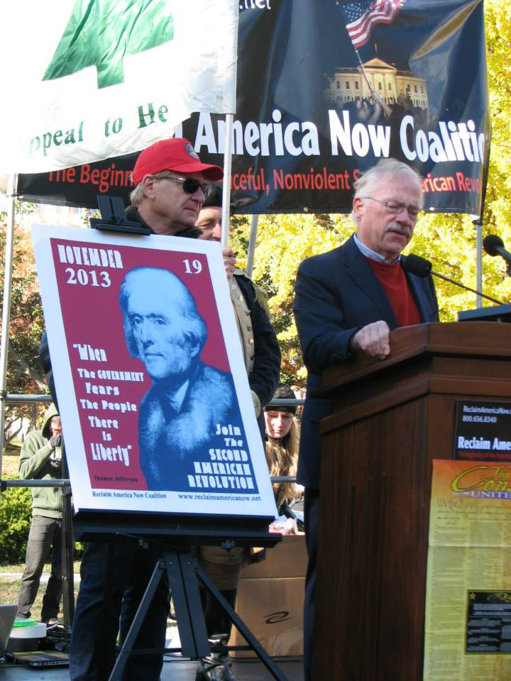 Bob Barr, Reclaim America Now rally