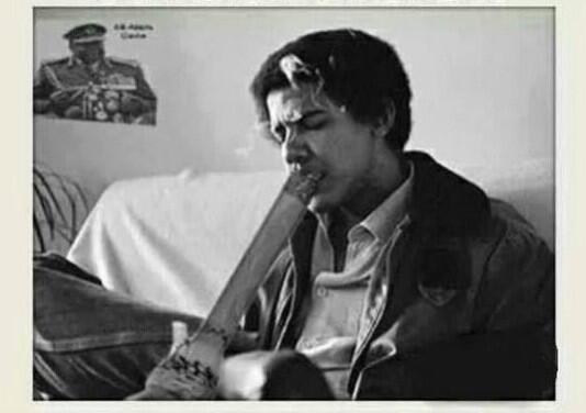 Image result for obama smoking bong pic