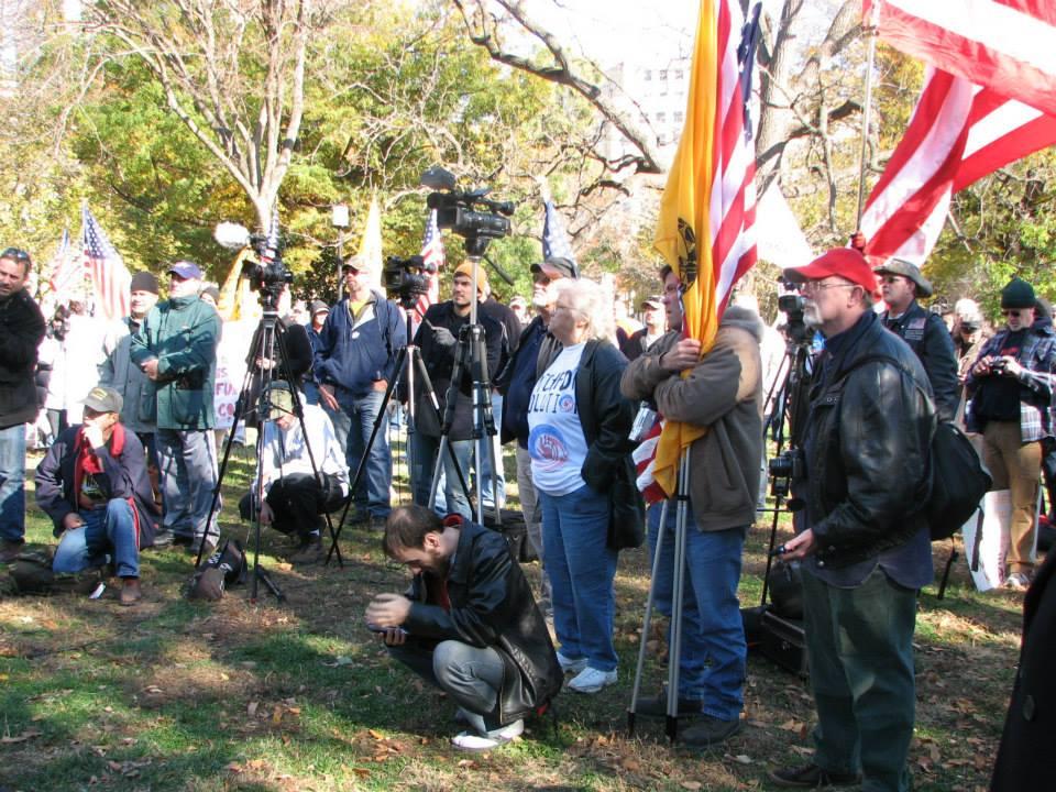 Reclaim America Now ralliers