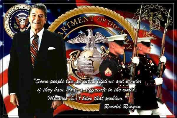 Ronald-Reagan-Marines
