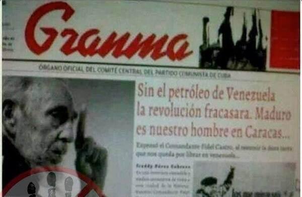 Granma-Cuba-Maduro