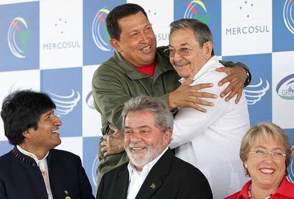 Latino-neo-Marxist-leaders-Chavez