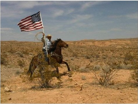 Bundy-time-horseman-flag