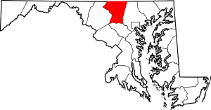 Map_Maryland_red_Carroll_County