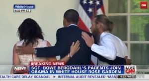 Obama, parents of Bowe Bergdahl