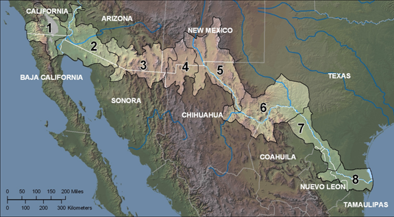Mexican Border Zones