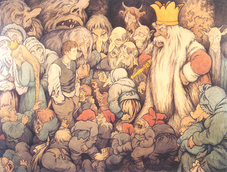 Before Bilbo Baggins or the Internet, there was Peer Gynt
