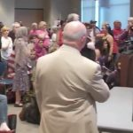 Watch As Liberal Astroturf At A Town Hall Come Unglued In Louisiana Over Prayer And The Pledge Of Allegiance [VIDEO]