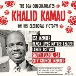 Khalid Kamau: DSA Communist Wins Georgia Council Race