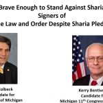 "Michigan Candidate for Governor – ""Brave Enough to Stand Against Sharia"""